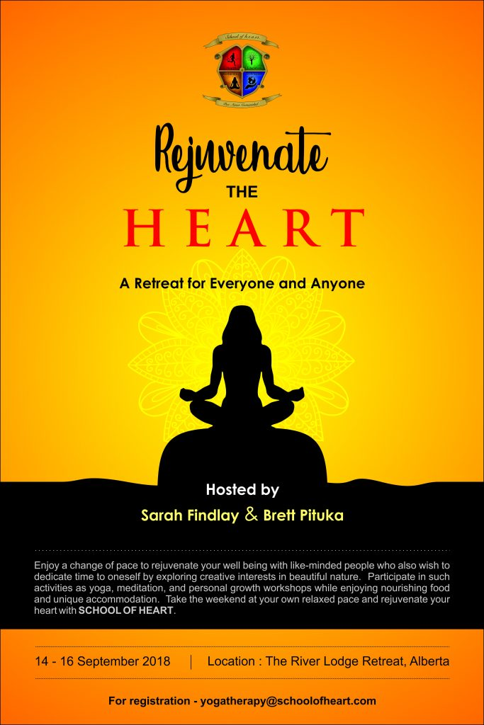 Rejuvenate the HEART Poster